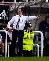 Photo: Jed Wee.<br /> Newcastle United v Everton. The Barclays Premiership. 24/09/2006.<br /> <br /> Newcastle manager Glenn Roeder.