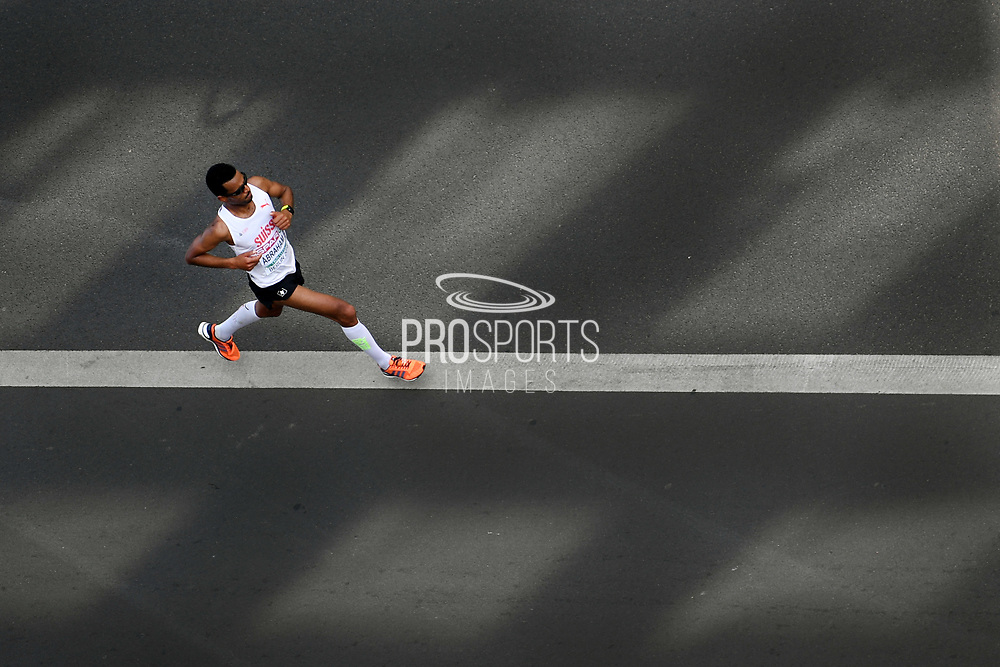Tadesse Abraham competes and takes silver medal in men Marathon during the European Championships 2018, at Olympic Stadium in Berlin, Germany, Day 6, on August 12, 2018 - Photo Philippe Millereau / KMSP / ProSportsImages / DPPI