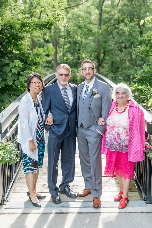 Lydia & Michael's Summer Ancaster Mill Wedding
