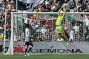 Udine, 08/05/2011.Campionato di calcio Serie A 2010/2011. 36^ giornata..Udinese vs Lazio. Stadio Friuli..Nella Foto: Nestor Fernando Muslera..Foto di Simone Ferraro