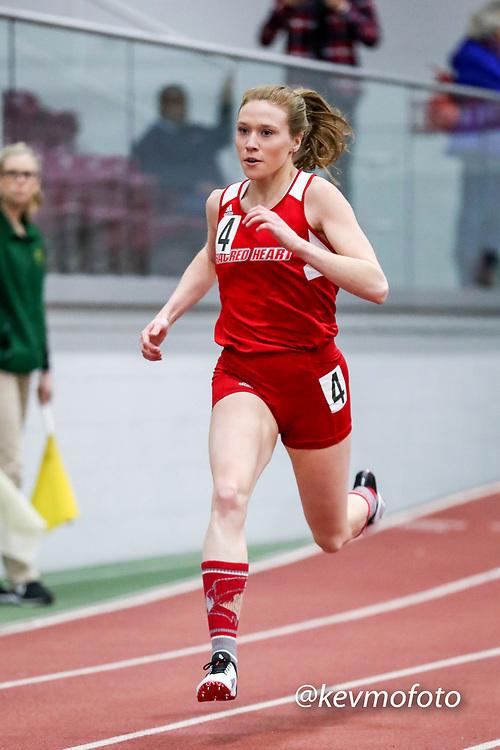 womens 300 meters, Sacred Heart,  <br /> Multi-team Meet Indoor Track & Field