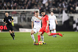 February 23, 2019 - Amiens, France - 08 PIERRE LEES MELOU (NICE) - 17 ALEXIS BLIN  (Credit Image: © Panoramic via ZUMA Press)