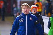 Bradford City Manager Stuart McCall  during the EFL Sky Bet League 1 match between Bradford City and Northampton Town at the Coral Windows Stadium, Bradford, England on 22 November 2016. Photo by Simon Davies.