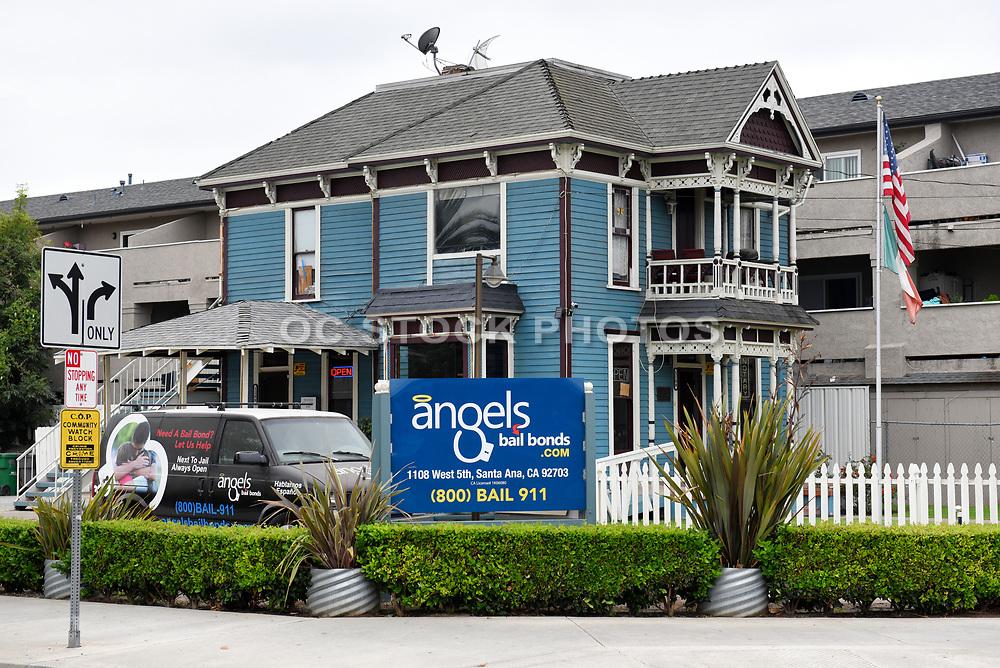 Angels Bail Bonds Building in Santa Ana