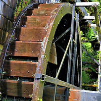 Millhouse at German Colonial Museum in Frutillar, Chile<br />