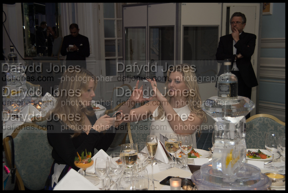 PHILIPPA NIXON; REBECCA FLETCHER CAMPBELL, The Old Russian New Year's Eve Gala. In aid of the Gift of Life foundation. Savoy Hotel, London. 13 January 2015.