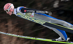 03.01.2015, Bergisel Schanze, Innsbruck, AUT, FIS Ski Sprung Weltcup, 63. Vierschanzentournee, Innsbruck, Training, im Bild Severin Freund (GER) // Severin Freund of Germany soars through the air during a training session for the 63rd Four Hills Tournament of FIS Ski Jumping World Cup at the Bergisel Schanze in Innsbruck, Austria on 2015/01/03. EXPA Pictures © 2015, PhotoCredit: EXPA/ Jakob Gruber