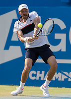 Tennis - 2017 Aegon Championships [Queen's Club Championship] - Day Three, Wednesday<br /> <br /> Men's Singles, Round of 16 - Grigor Dimitrov (BUL) vs Julien Benneteau (FRA)<br /> <br /> Julien Benneteau (FRA) at Queens Club<br /> <br /> COLORSPORT/DANIEL BEARHAM
