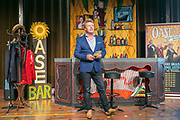 ROTTERDAM, THE NETHERLANDS. 2017, AUGUST 29. Bastiaan Ragas at the press conference of De Oase Bar geeft een Feestje at Walhalla.