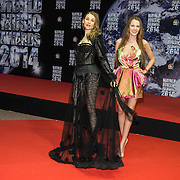 MON/Monaco/20140527 -World Music Awards 2014, Model Julia Blanche-Hristova