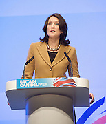 Conservative Party Conference, ICC, Birmingham, Great Britain <br /> Day 2<br /> 8th October 2012 <br /> <br /> <br /> Rt Hon Theresa Villiers MP <br /> Secretary of State for Northern Ireland <br /> <br /> Photograph by Elliott Franks<br /> <br /> <br /> Tel 07802 537 220 <br /> elliott@elliottfranks.com<br /> <br /> ©2012 Elliott Franks<br /> Agency space rates apply