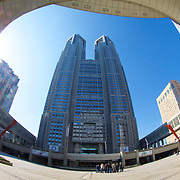 The biggest city hall you've ever seen - the Tokyo Metropolitan Government Building in Shinjuku. This complex is amazing.