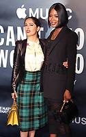 Salma Hayek & Naomi Campbell, Can't Stop, Won't Stop: A Bad Boy Story - UK Film Premiere, Curzon Mayfair, London UK, 16 May 2017, Photo by Brett D. Cove
