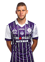 Alexis Blin of Toulouse during the photo shooting session of Toulouse FC for the new season 2016/2017 in Toulouse on September 16th 2016<br /> Photo : TFC / Icon Sport