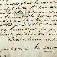 25-01-10 Burns Letter Discovered