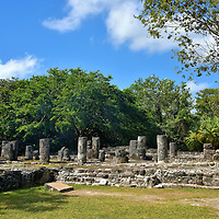 The Palace at San Gervasio near San Miguel, Cozumel, Mexico<br />