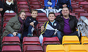 Dundee fans  - Motherwell v Dundee, SPFL Premiership at Fir Park<br /> <br />  - &copy; David Young - www.davidyoungphoto.co.uk - email: davidyoungphoto@gmail.com