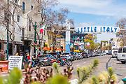 Busty Street Scene in Downtown San Diego in Little Italy