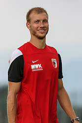 24.07.2015, Sportplatz, Walchsee, AUT, Trainingslager, FC Augsburg, im Bild Ragnar Klavan (FC Augsburg #5), Porträt // during the Trainingscamp of German Bundesliga Club FC Augsburg at the Sportplatz in Walchsee, Austria on 2015/07/24. EXPA Pictures © 2015, PhotoCredit: EXPA/ Eibner-Pressefoto/ Krieger<br /> <br /> *****ATTENTION - OUT of GER*****