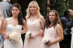 EXCLUSIVE: ***NO WEB UNTIL 1PM, OCT 2*** Kirsten Dunst is a bridesmaid at the Rome wedding of her best friend, Cindy McGee, who married John Manieri, a pharmaceutical executive. Guests at the lavish wedding, from the US and some Italians, stayed in a luxury 5 star hotel, and enjoyed limousine service to a party at Villa Aurelia, overlooking Monte Mario. The wedding took place in the monumental church of Sant'Ignazio. Dunst's parents also attended the wedding. 30 Sep 2017 Pictured: Kristen Dunst,Cindy McGee. Photo credit: MEGA TheMegaAgency.com +1 888 505 6342