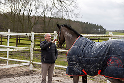 WERNKE Peter, Queen Mary<br /> Paddock<br /> Holdorf - Homestory Jan Wernke 2020<br /> www.sportfotos-lafrentz.de/Stefan Lafrentz<br /> 19. Februar 2020