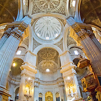 Alberto Carrera, Interior View, Cathedral of Granada, Granada, Andaluc&iacute;a, Spain, Europe<br /> <br /> EDITORIAL USE ONLY