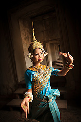 Aspara dancer at Angkor Wat
