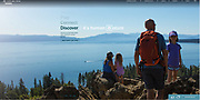 Ad campaign for Tahoe North Tourism