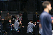 Andy Murray (Great Britain) girlfriend Kim Sears celebrates him winning the Championship Trophy during the final of the Barclays ATP World Tour Finals at the O2 Arena, London, United Kingdom on 20 November 2016. Photo by Phil Duncan.