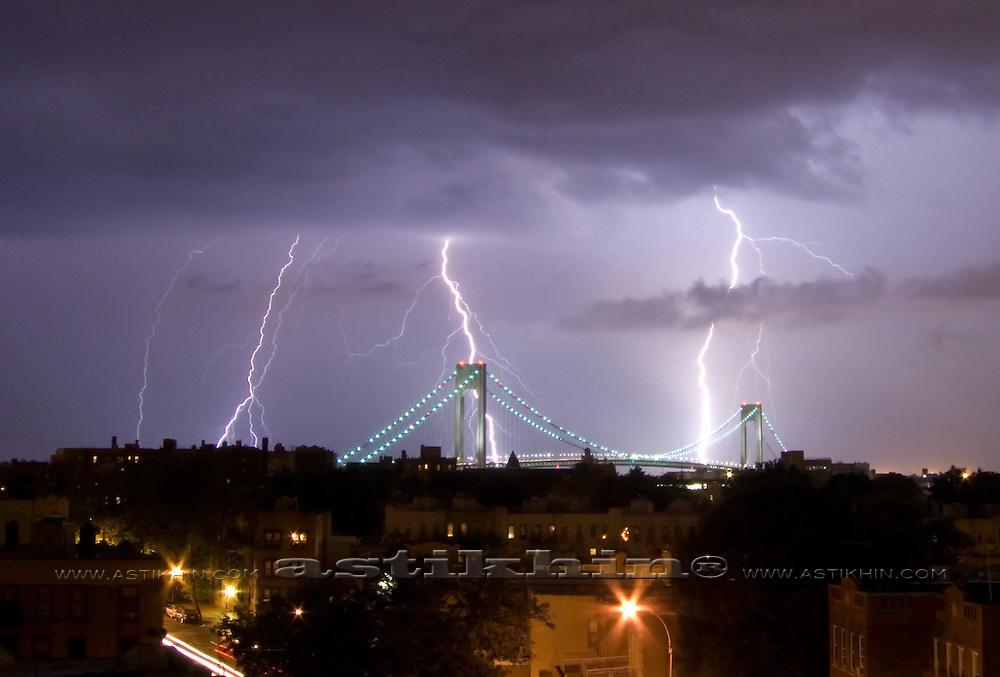 Thunderstorm in Brooklyn