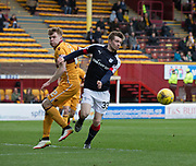 Dundee's Craig Wighton and Motherwell's Chris Cadden - Motherwell v Dundee, Fir Park, Motherwell, Photo: David Young<br /> <br />  - © David Young - www.davidyoungphoto.co.uk - email: davidyoungphoto@gmail.com