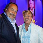 NLD/Hilversum/20120821 - Perspresentatie RTL Nederland 2012 / 2013, Jasper Julius en Robert Kranenborg