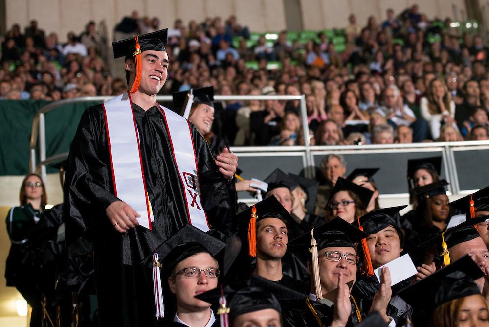 2014 Ohio University Commencement Ceremony. Photo by Olivia Wallace / Ohio University