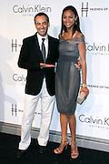 Franciso Costa and Zoe Saldana