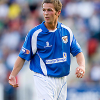 St Johnstone Season 2008-09<br /> Chris Millar<br /> <br /> Picture by Graeme Hart.<br /> Copyright Perthshire Picture Agency<br /> Tel: 01738 623350  Mobile: 07990 594431