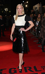 Joely Richardson arriving for the premiere of The Girl With The Dragon Tattoo,  in London, Monday 12th December 2011. Photo by: Stephen Lock / i-Images
