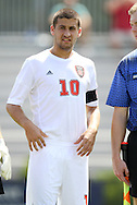 02 September 2012: NC State's Nazmi Albadawi. The North Carolina State University Wolfpack defeated the Santa Clara University Broncos 2-1 at Koskinen Stadium in Durham, North Carolina in a 2012 NCAA Division I Men's Soccer game.