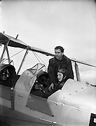 Captain Darby Kennedy - Weston Aerodrome, Leixlip, Co. Kildare.24/03/1954