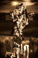 """The Seven Sorrows - BW""...<br />
