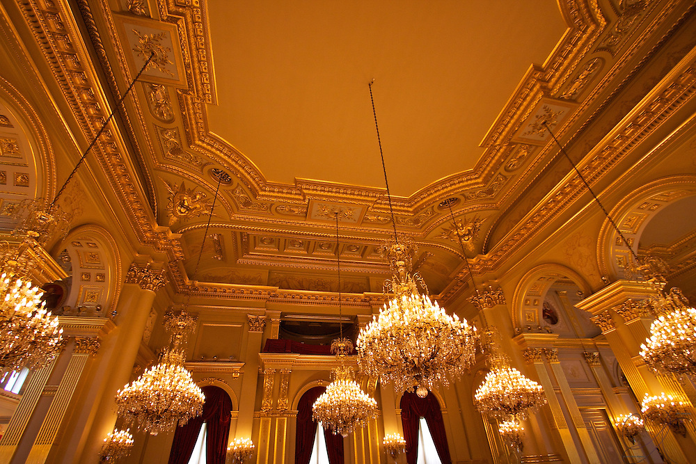 One of the most grand rooms in Brussels, with 11 Chandeliers and the immense use of gold and classical design, it's easy to miss the Bas-reliefs of the Throne room, sculpted by Auguste Rodin. Perhaps even more impressive: this room was used as a hospital ward during both World Wars I and II.