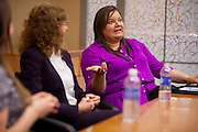 Ohio University Alum Ashley Hallier recounts her time at Ohio Univeristy and how that has translated into the workplace.  Photo by Ohio University / Jonathan Adams