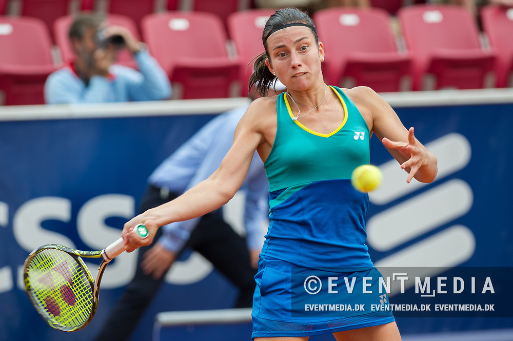 Anastasija Sevastova (Latvia) at the 2017 WTA Ericsson Open in Båstad, Sweden, July 28, 2017. Photo Credit: Katja Boll/EVENTMEDIA.