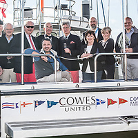 Cowes United Handover