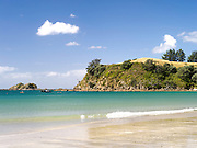 Palm Beach and Mawhitpana Bay, Waiheke Island, New Zealand