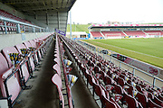 """""""Cobblers Clappers""""  on stand seats during the Sky Bet League 2 match between Northampton Town and Cambridge United at Sixfields Stadium, Northampton, England on 12 March 2016. Photo by Dennis Goodwin."""
