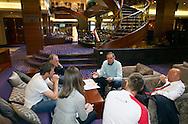 Switzerland's U21 national coach Pierluigi TAMI (C) Talks to his staff after arriving at the Renaissance hotel in Zurich, Switzerland, Tuesday, June 7, 2011. The Swiss team attends the UEFA Under-21 (U21) Championship tournament in Denmark. (Photo by Patrick B. Kraemer / MAGICPBK)