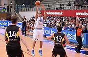 DESCRIZIONE : Trento Nazionale Italia Uomini Trentino Basket Cup Italia Germania Italy Germany<br /> GIOCATORE : Andrea Cinciarini<br /> SQUADRA : Italia Nazionale Uomini Italy<br /> EVENTO : Trentino Basket Cup<br /> GARA : Italia Germania Italy Germany<br /> DATA : 10/07/2014 <br /> SPORT : Pallacanestro<br /> AUTORE : Agenzia Ciamillo-Castoria<br /> Galleria : FIP Nazionali 2014<br /> Fotonotizia : Trento Nazionale Italia Uomini Trentino Basket Cup Italia Germania Italy Germany