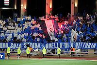 Supporters de Bastia  - 04.02.2015 - Monaco / Bastia - 1/2Finale Coupe de la Ligue<br />Photo : Sebastien Nogier / Icon Sport