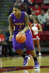 29 December 2011:  Deon Mitchell during an NCAA mens basketball game between the Northern Illinois Panthers and the Illinois State Redbirds in Redbird Arena, Normal IL