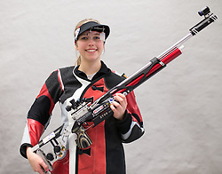 19.03.2016, Arena Kufstein, Kufstein, AUT, Österreichische Meisterschaften für Luftdruckwaffen, Damen, im Bild Lisa Ungerank (AUT) // Lisa Ungerank of Austria during the Austrian Womens Championships for airguns at Arena Kufstein in Kufstein, Austria on 2016/03/19. EXPA Pictures © 2016, PhotoCredit: EXPA/ Johann Groder